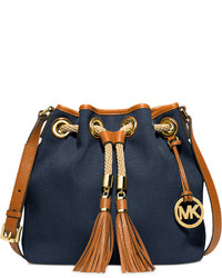 350d2a3e0d25 Women's Navy Canvas Crossbody Bags by MICHAEL Michael Kors | Women's ...