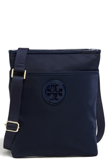 Tory Burch Nylon Crossbody Bag French Navy
