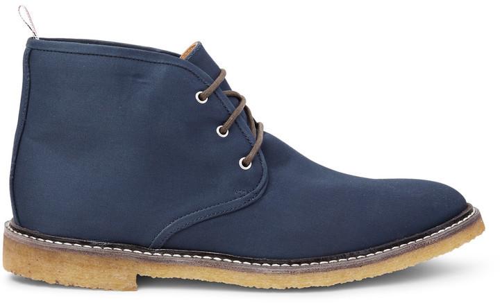 Thom Browne Canvas Desert Boots, $790