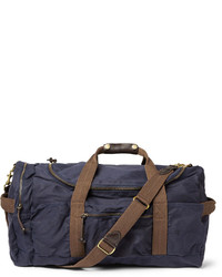 J.Crew Abingdon Waxed Cotton Canvas Holdall