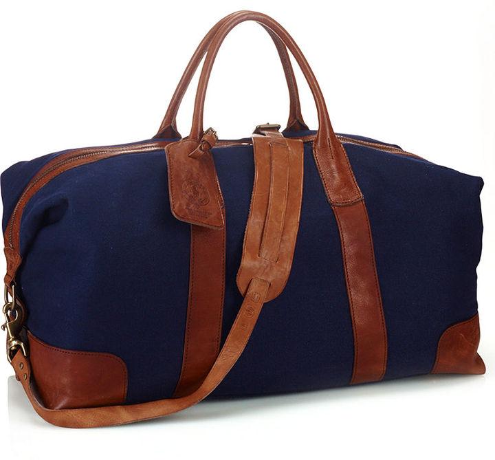 69016e38cb3f Canvas Duffel Bag. Navy Canvas Duffle Bag by Polo Ralph Lauren