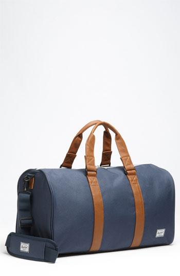 Ravine Gym Bag Navy Tan One Size · Mens Designer ... d83c17a8d0f2a
