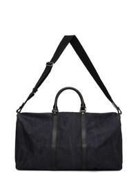 Etro Navy Paisley Duffle Bag