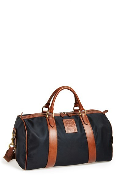 2b27292fb583 ... Duffle Bags Polo Ralph Lauren Nylon Leather Duffel Bag ...