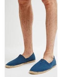 Forever 21 Canvas Espadrille Slip Ons