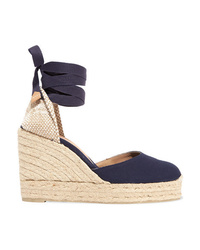 Castaner Carina 100 Canvas Wedge Espadrilles
