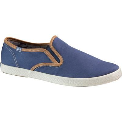 keds chion slip on cvo blue canvas canvas shoes