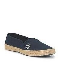 Penguin Lakeside Navy Espadrilles Casual Shoes