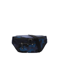 Navy Canvas Fanny Pack