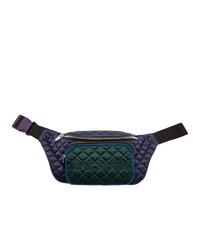 Balmain Multicolor Quilted Belt Bag