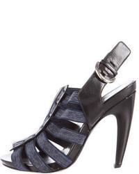 Slingback cage sandals medium 874043