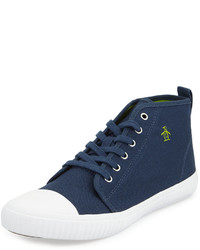 Original Penguin Sneakerish Canvas High Top Sneaker Dress Blues