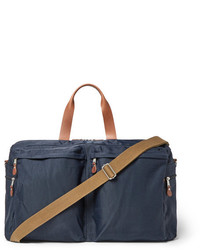 J.Crew Harwick Leather Trimmed Canvas Holdall