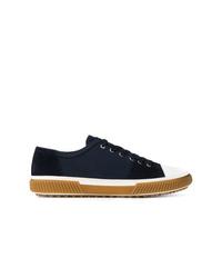 Prada Contrast Toe Cap Sneakers