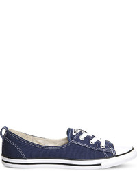 Converse Ctas Lace Up Ballet Flat Trainers