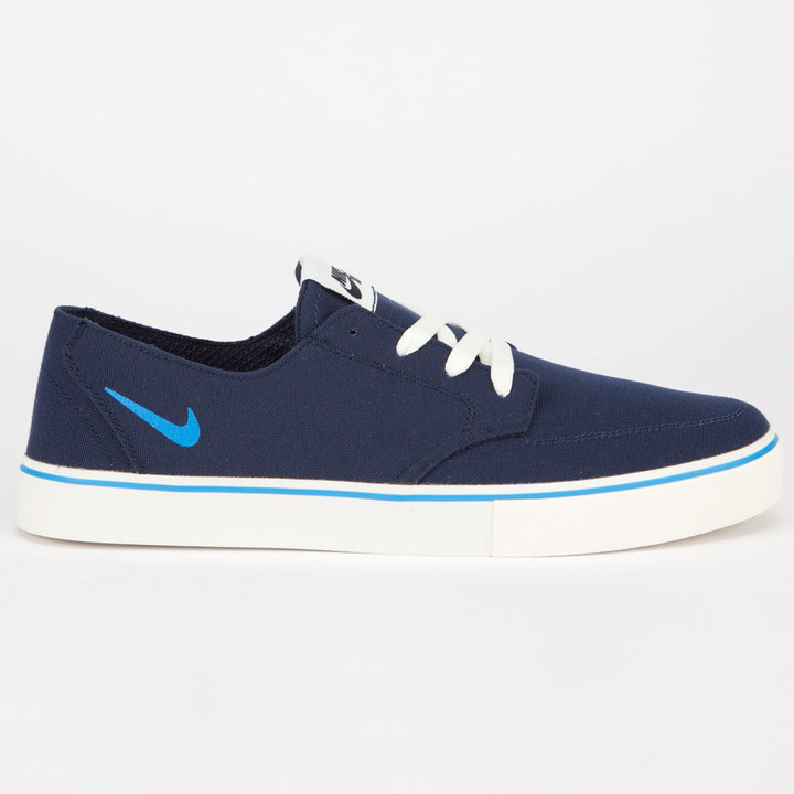 Nike Sb Braata Lr Canvas Navy Shoes