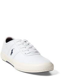 ... Polo Ralph Lauren Tyrian Canvas Low Top Sneaker ...