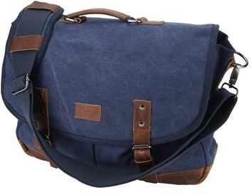 0957ef05eb ... Original Penguin Canvas Messenger Bag ...