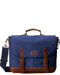 75590026c8 Men s Navy Canvas Messenger Bags by Original Penguin