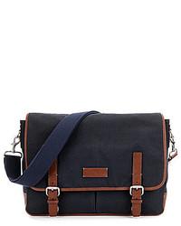 Fossil Graham Canvas Laptop Messenger Bag
