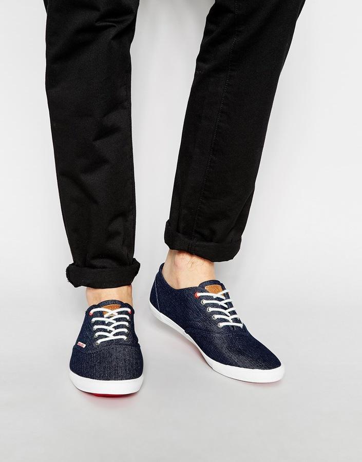 ... Plimsolls Jack & Jones Spider Canvas Sneakers