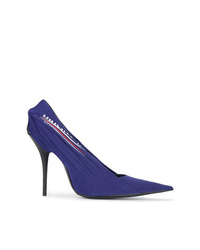 Balenciaga Blue Knife 110 Pumps