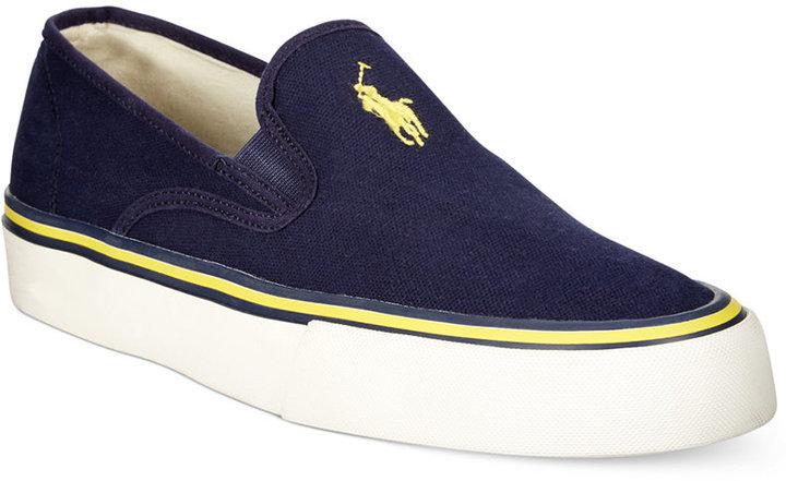 ... Polo Ralph Lauren Mytton Slip On Sneakers ...