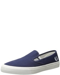 Fred Perry Turner Slip On Canvas Sneaker