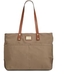 552381225 Calvin Klein Dressy Nylon Tote, $138 | Macy's | Lookastic.com