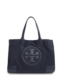 43db0e21aa54 Women s Navy Canvas Tote Bags by Tory Burch