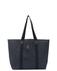 A.P.C. Logo Patch Shopper Tote