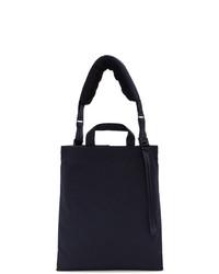 Comme des Garcons Homme Deux Navy Porter Classic Edition Canvas Messenger Bag