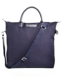 WANT Les Essentiels Ohare Canvas Leather Tote