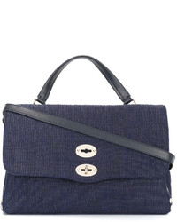 f13f3e0e6636 Tory Burch Tory Burch Kellyn Canvas Tote Bag