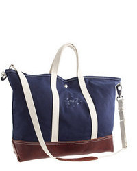Steele Canvas Basket Corptm Leather Tote