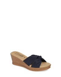 TUSCANY by Easy Street Dinah Platform Wedge Sandal