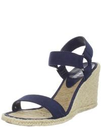 Lauren Ralph Lauren Indigo Wedge Sandal