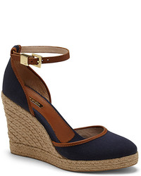 Louise et Cie Palma  Canvas Wedge Espadrille