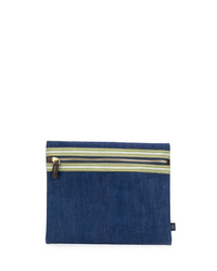 Lardini Denim Clutch