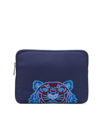 Kenzo Tiger Embroidered Clutch
