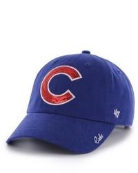 '47 Chicago Cubs Sparkle Baseball Cap Blue