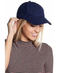 Free Press Faux Suede Baseball Cap