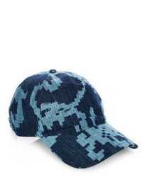 Rag & Bone Marilyn Embroidered Denim Baseball Cap