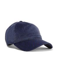 Rag & Bone Marilyn Med Cotton Blend Velvet Jacquard Baseball Cap