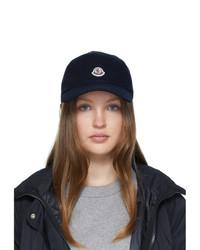 Moncler Navy Baseball Cap