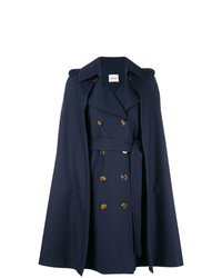 Khaite Cape Double Breasted Coat