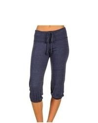 Alternative Apparel Eco Heather Crop Pant Casual Pants Eco True Navy