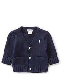 Ralph Lauren Childrenswear Baby Boys 3 24 Months Cardigan