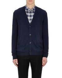 Marc by Marc Jacobs Colorblocked Cardigan Navy Size Na