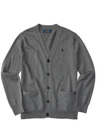 Ralph Lauren Cotton V Neck Cardigan